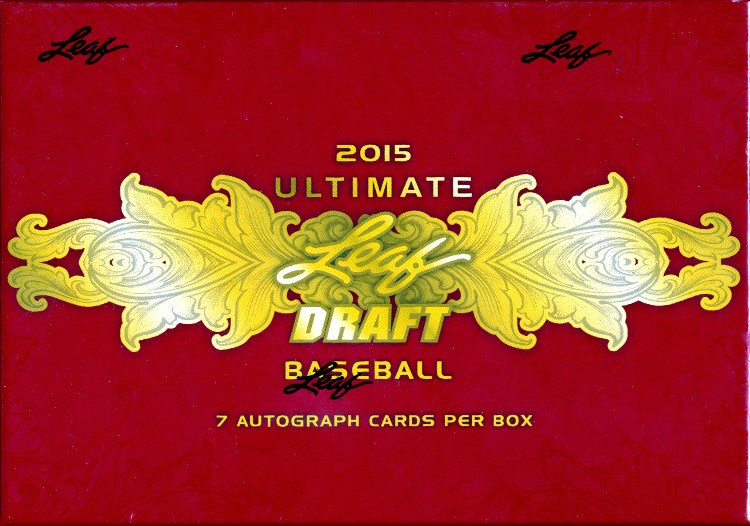 2015 Leaf Ultimate Draft Baseball Hobby Box