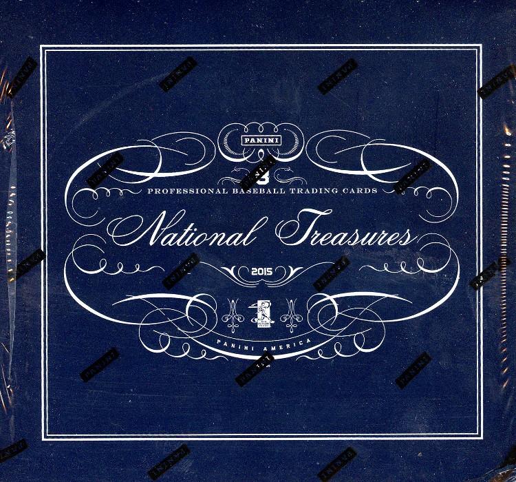 2015 Panini National Treasures Baseball Hobby Box