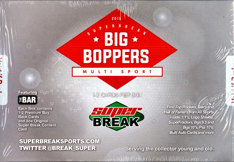 2015 Super Break Big Boppers Box