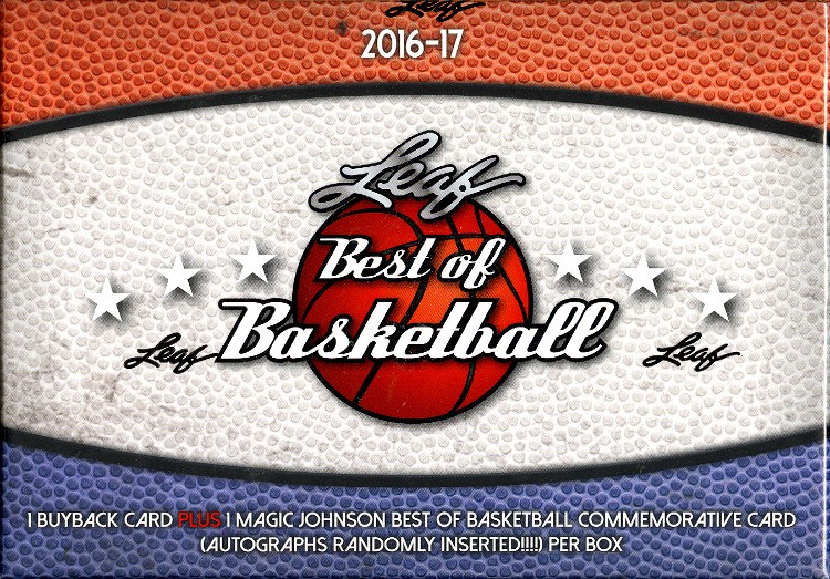 2016/17 Leaf Best of Basketball Box