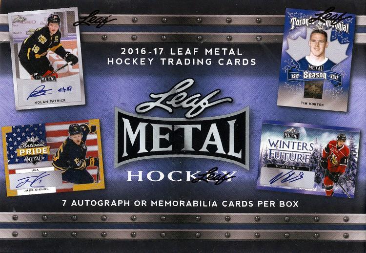 2016/17 Leaf Metal Hockey 12 Box Case