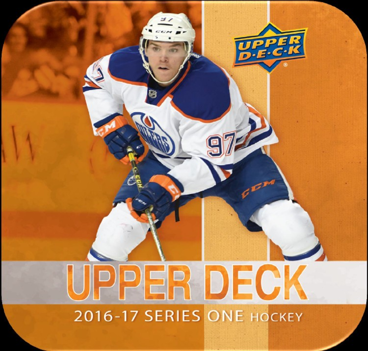 Image result for 2016/17 upper deck series 1 hockey