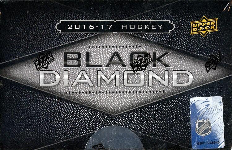 2016/17 Upper Deck Black Diamond Hockey Hobby 5 Box Case
