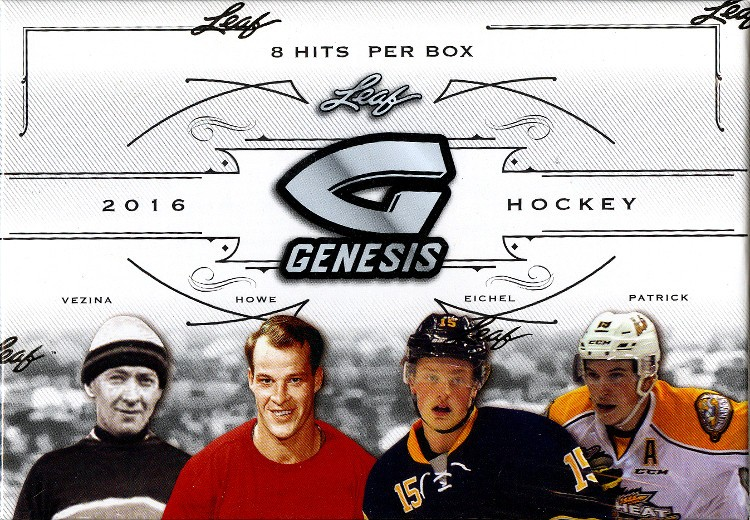 2016 Leaf Genesis Hockey 10 Box Case