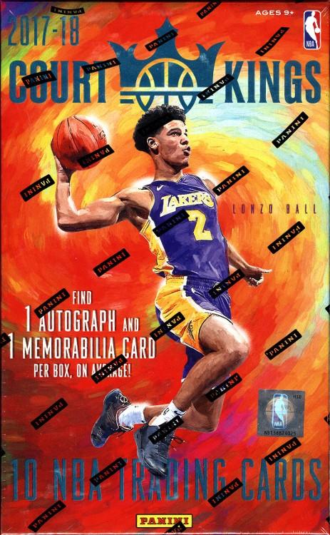 2017/18 Panini Court Kings Basketball Hobby Box
