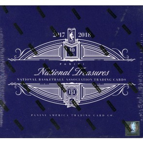 2017/18 Panini National Treasures Basketball Hobby Box