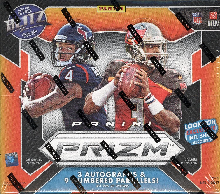 2017 Panini Prizm Football Hobby Box