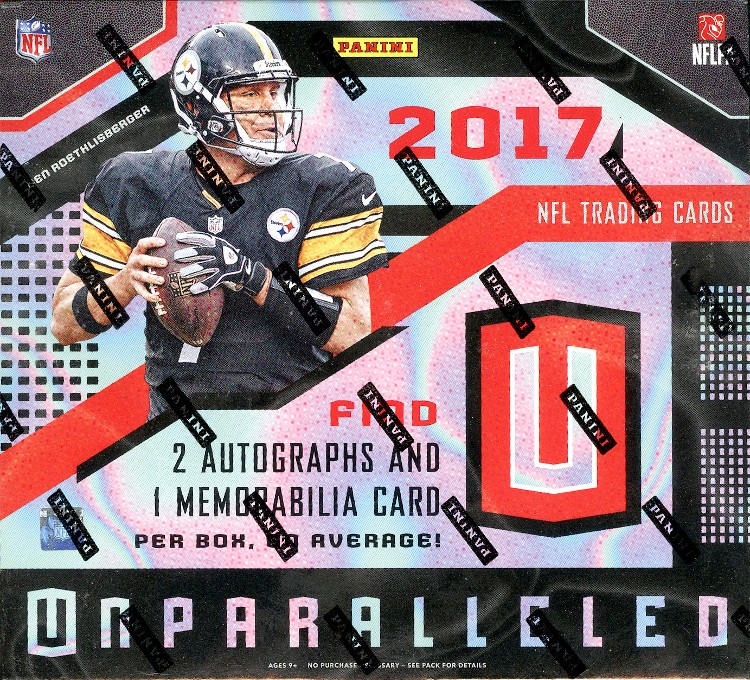 2017 Panini Unparalleled Football Hobby Box