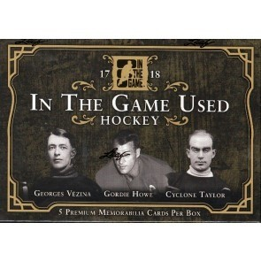 2017/18 Leaf In The Game (ITG) Game Used Hockey 10 Box Case