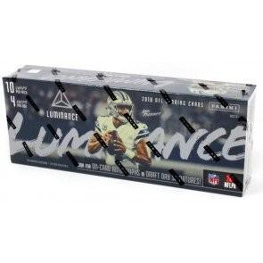 2018 Panini Luminance Football Hobby 12 Box Case