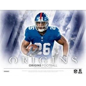 2018 Panini Origins Football Hobby 16 Box Case