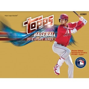 2018 Topps Update Series Baseball Hobby 12 Box Case + 12 Silver Packs