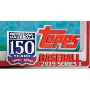 2019 Topps Series 1 Baseball Hobby 12 Box Case + 12 Silver Packs
