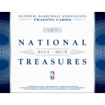 2014/15 Panini National Treasures Basketball Hobby 3 Box Case