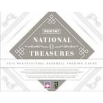 2014 Panini National Treasures Baseball Hobby 4 Box Case