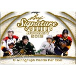 2015/16 Leaf Signature Series Hockey Hobby Box