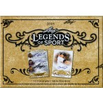 2015 Leaf Legends of Sport Trading Cards Box