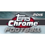 2015 Topps Chrome Football Hobby 12 Box Case