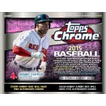2015 Topps Chrome Baseball Jumbo 8 Box Case