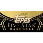 2015 Topps Five Star Baseball Hobby 8 Box Case