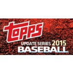 2015 Topps Update Series Baseball Jumbo 6 Box Case