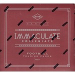 2016 Panini Immaculate Collegiate Football Hobby 5 Box Case