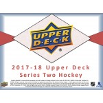2017/18 Upper Deck Series 2 Hockey Hobby 12 Box Case