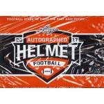 2017 Leaf Autographed Full Sized Helmet Football Box