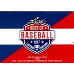 2017 Leaf Best of Baseball Box