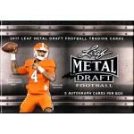 2017 Leaf Metal Draft Football Hobby Box