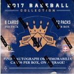 2017 Panini Donruss Diamond Kings Baseball Hobby Box