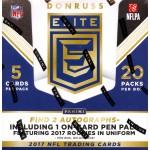 2017 Panini Donruss Elite Football Hobby Box