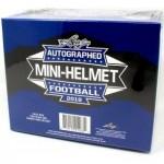 2018 Leaf Autographed Mini Helmet Football Box