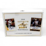 2018 Leaf Ultimate Draft Football Hobby Box