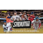 2018 Topps Stadium Club Baseball Hobby 16 Box Case