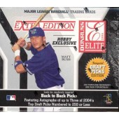 2004 Donruss Elite Extra Edition Baseball Hobby 16 Box Case
