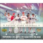 2006 Upper Deck Future Stars Baseball Hobby 12 Box Case