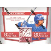2010 Donruss Elite Extra Edition Baseball Hobby 20 Box Case