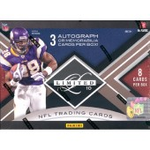 2010 Panini Limited Football Hobby Box