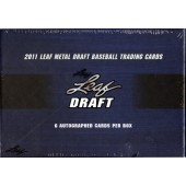 2011 Leaf Metal Baseball Hobby 12 Box Case