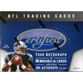 2011 Panini Certified Football Hobby Box