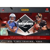2011 Panini Limited Football Hobby 15 Box Case