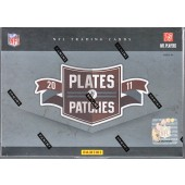 2011 Panini Plates & Patches Football Hobby 15 Box Case
