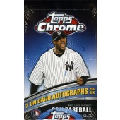 2011 Topps Chrome Baseball Hobby 12 Box Case