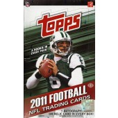 2011 Topps Football Hobby 12 Box Case