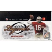2011 Topps Gridiron Legends Football Hobby 12 Box Case
