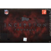 2011 Topps Inception Football Hobby 8 Box Case