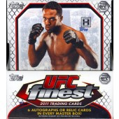 2011 Topps UFC Finest Hobby 8 Box Case
