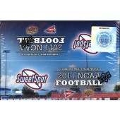 2011 Upper Deck NCAA Sweet Spot Football Hobby Box