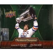 2011/12 Upper Deck Parkhurst Champions Hockey Hobby Box